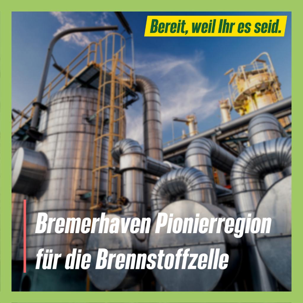 Bremerhaven Pionierregion für die Brennstoffzelle